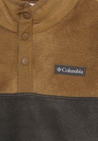 Columbia - STEENS 1/4 SNAP - Fleecová mikina - delta/shark - 2