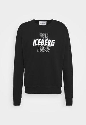 FELPA GIROCOLLO  - Sweatshirt - nero
