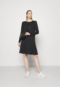 Marc O'Polo DENIM - LONGSLEEVE DRESS - Jersey dress - black - 1
