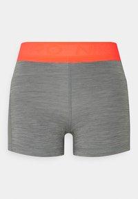 SHORT FEMME  - Tights - smoke grey/heather/bright mango/white
