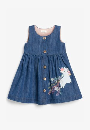 UNICORN - Vestito di jeans - bleached denim