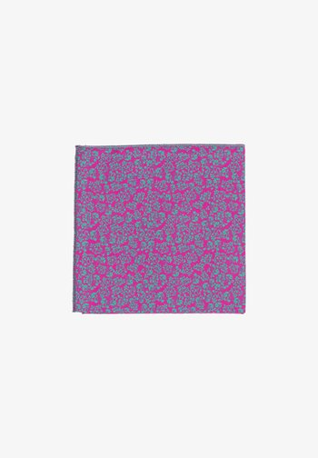 UNICORN FIORE - Pocket square - pink/türkis