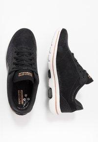 Skechers Performance - GO WALK 5 - Sportieve wandelschoenen - black/gold - 1