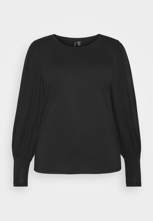 VMPANDA MUTTON - Long sleeved top - black