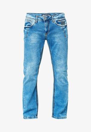 DICKE NAHT - Straight leg jeans - blau
