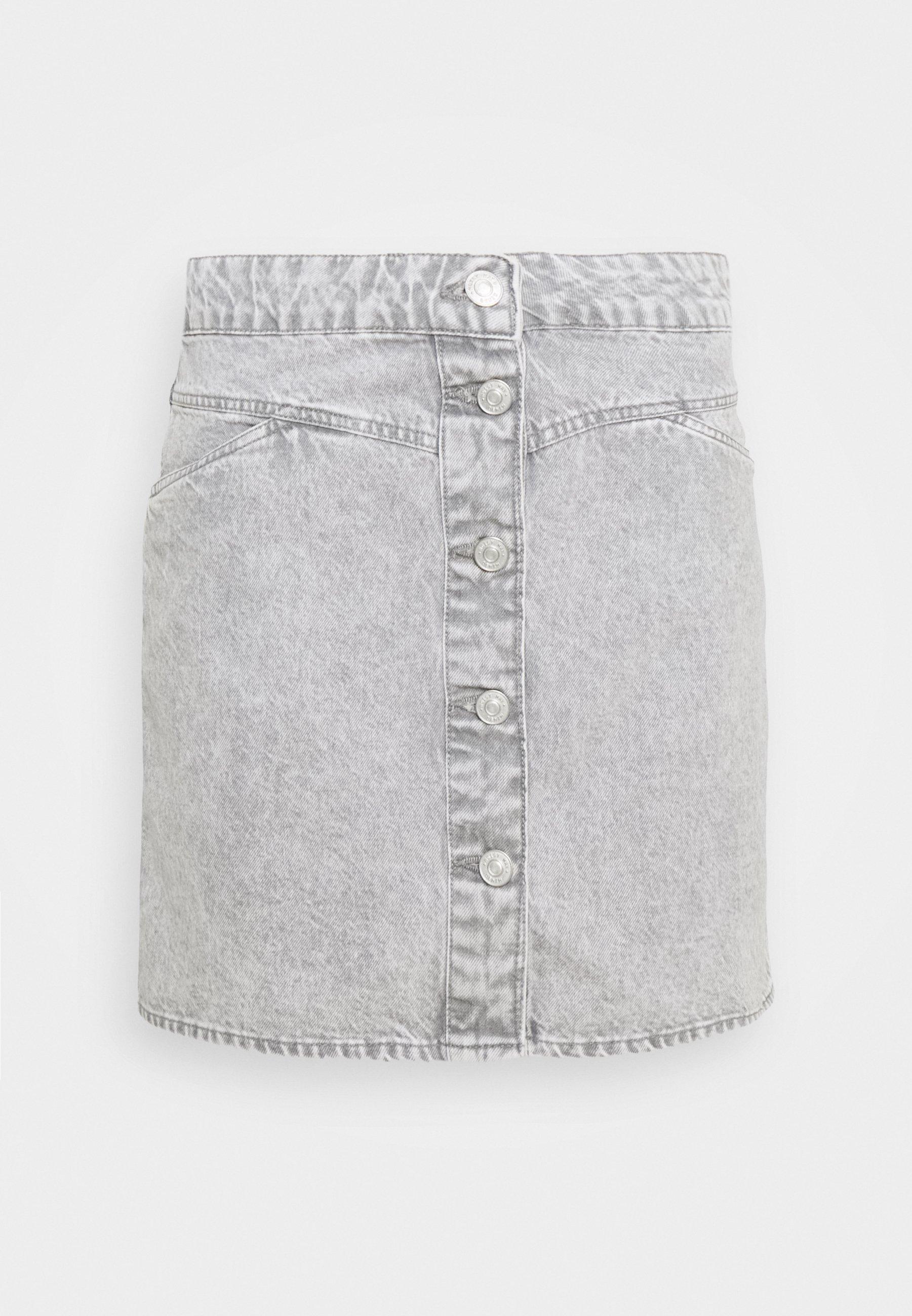 Women NMBE JUNE SHORT SKIRT - Denim skirt
