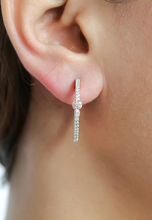 DIAGONAL - Earrings - rose gold-coloured