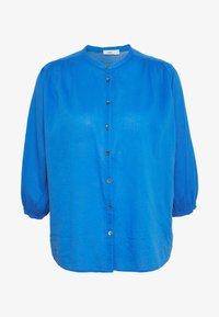 CLOSED - CHERRY - Button-down blouse - bluebird - 5