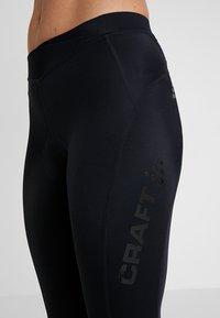 Craft - ESSENCE BIB KNICKERS - 3/4 sports trousers - black - 4