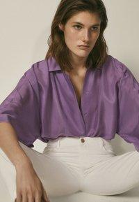 Massimo Dutti - Overhemdblouse - dark purple - 5
