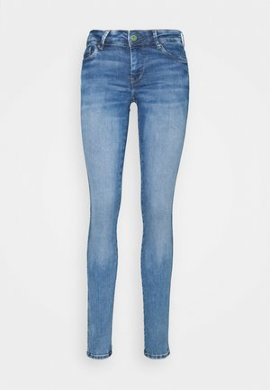 PIXIE STITCH - Vaqueros pitillo - blue denim