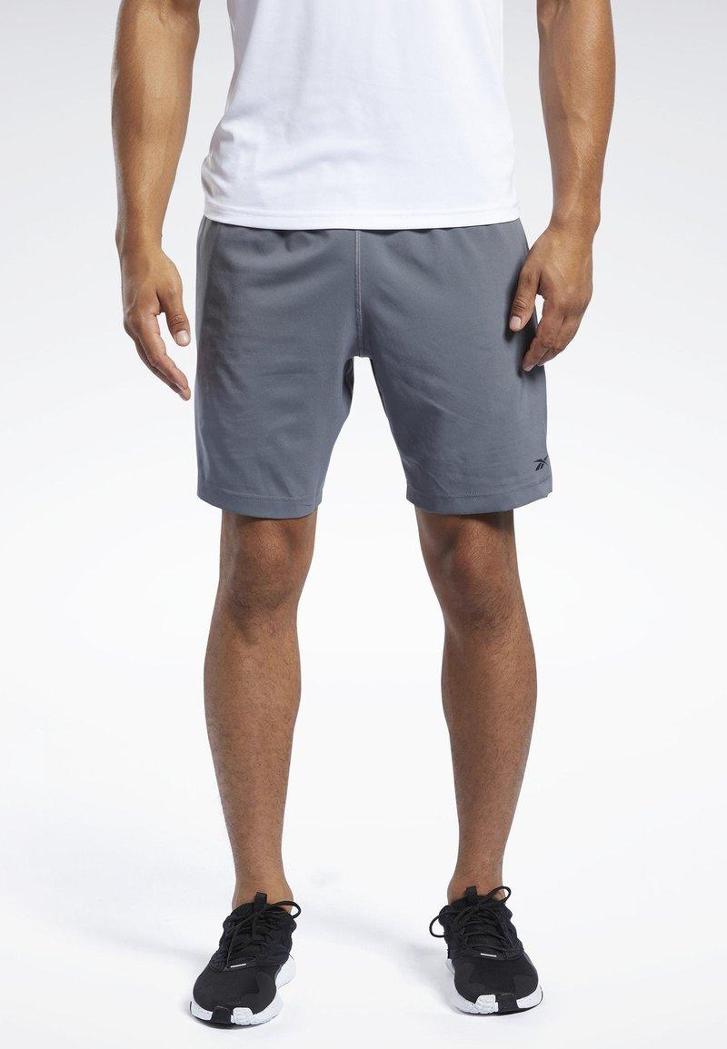 Reebok - WORKOUT READY SHORTS - Sports shorts - grey