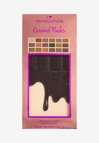 I Heart Revolution - I HEART REVOLUTION CARAMEL NUDES CHOCOLATE EYESHADOW PALETTE - Eyeshadow palette - brown - 3