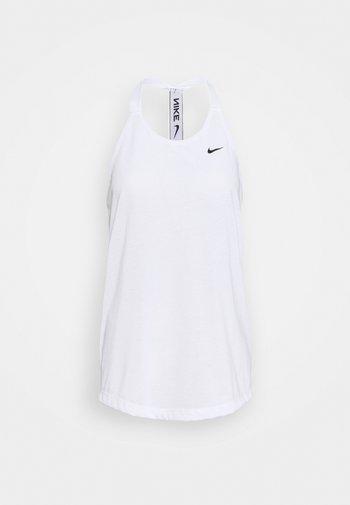 DRY ELASTIKA TANK - Treningsskjorter - white/black