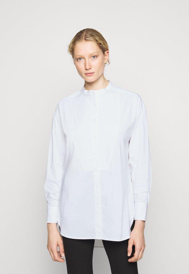 CLEMANDE FARMERS GLAM - Button-down blouse - white