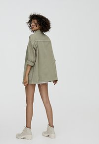 PULL&BEAR - IM WORKWEAR LOOK - Summer jacket - khaki - 2