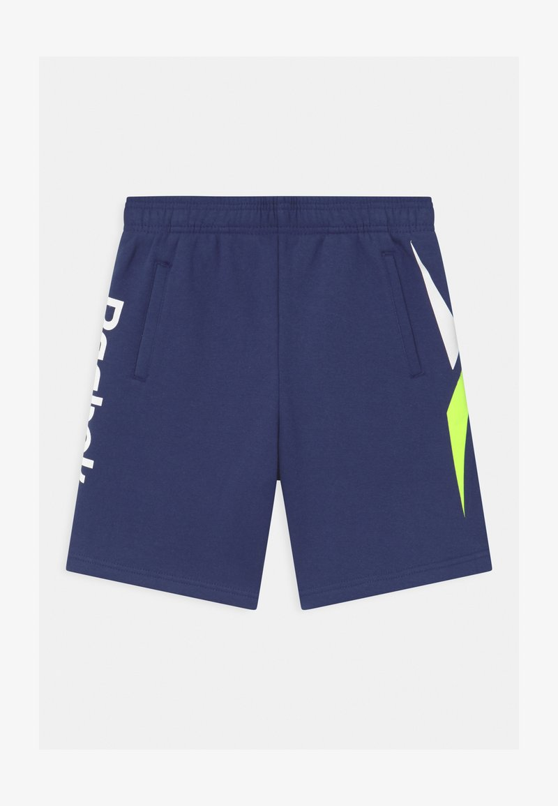 Reebok - VECTOR PLACEMENT - Tracksuit bottoms - navy