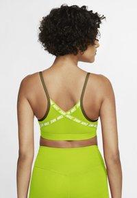 Nike Performance - INDY  - Sports bra - olive flak cyber white - 2