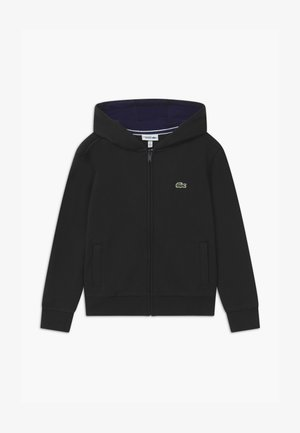 TENNIS - Zip-up hoodie - black/navy blue