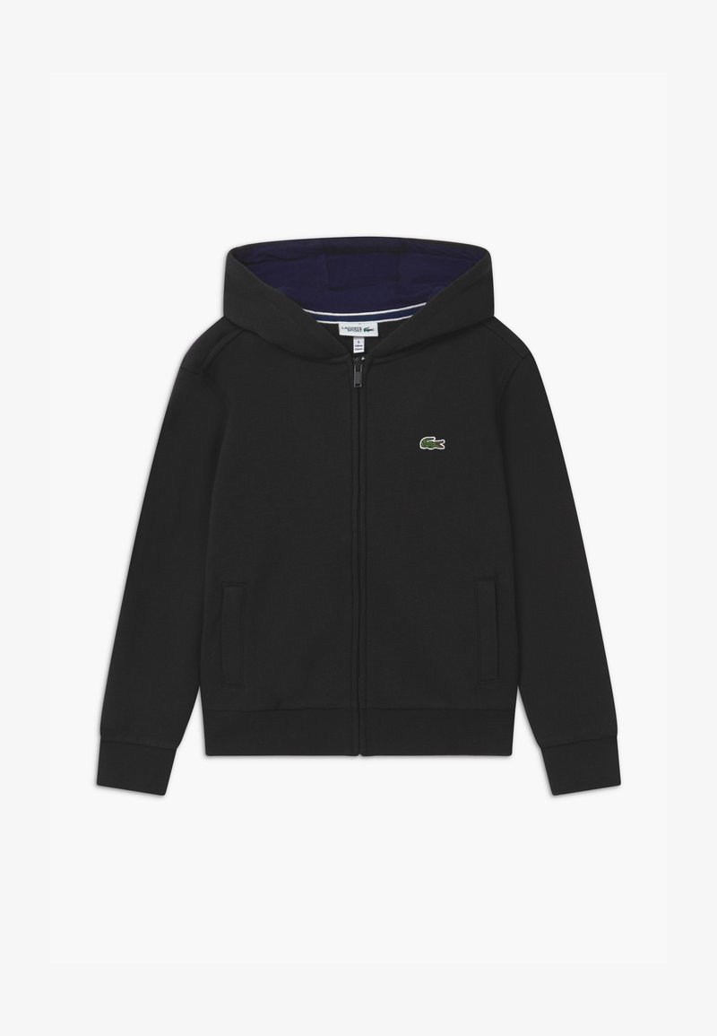 Lacoste Sport - TENNIS - veste en sweat zippée - black/navy blue