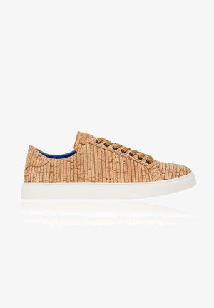 CORK  - Sneakers laag - beige