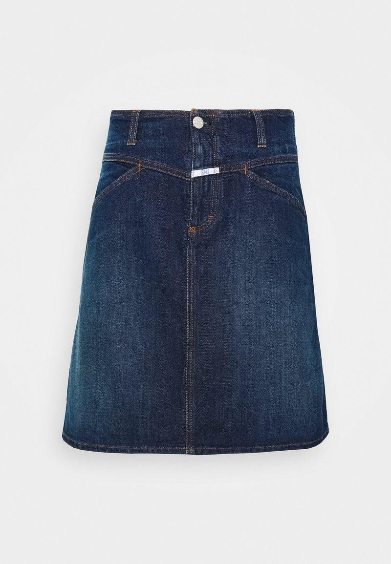 CLOSED - IBBIE - A-line skirt - dark blue