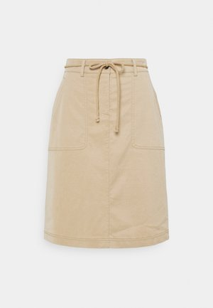 RIQUEL - Mini skirt - oak tree