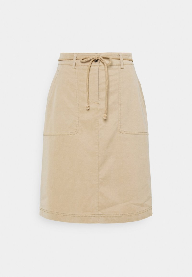 Opus - RIQUEL - Mini skirt - oak tree