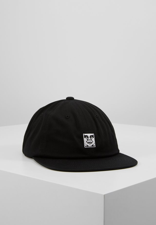 ICON 6 PANEL STRAPBACK - Pet - black
