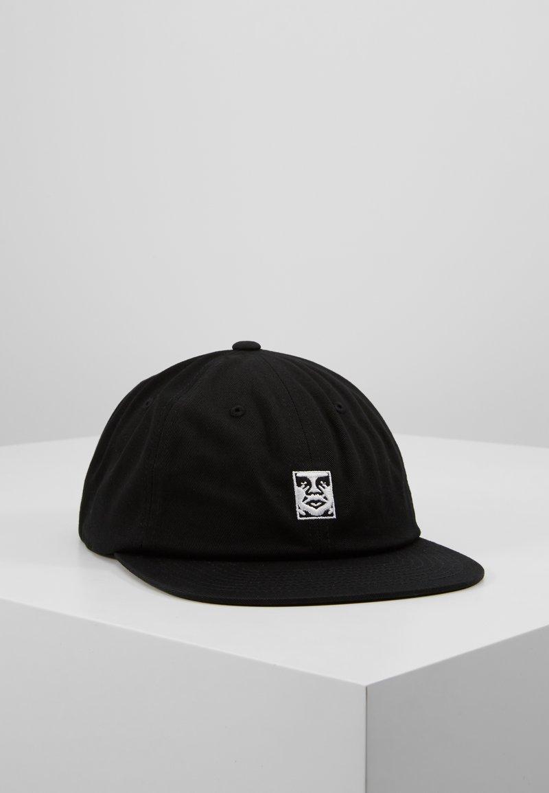 Obey Clothing - ICON 6 PANEL STRAPBACK - Kšiltovka - black