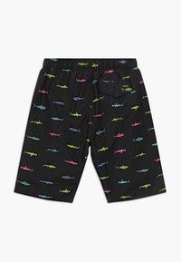 Hurley - SHARK SWARM SWIM TRUNK - Shorts - black - 1