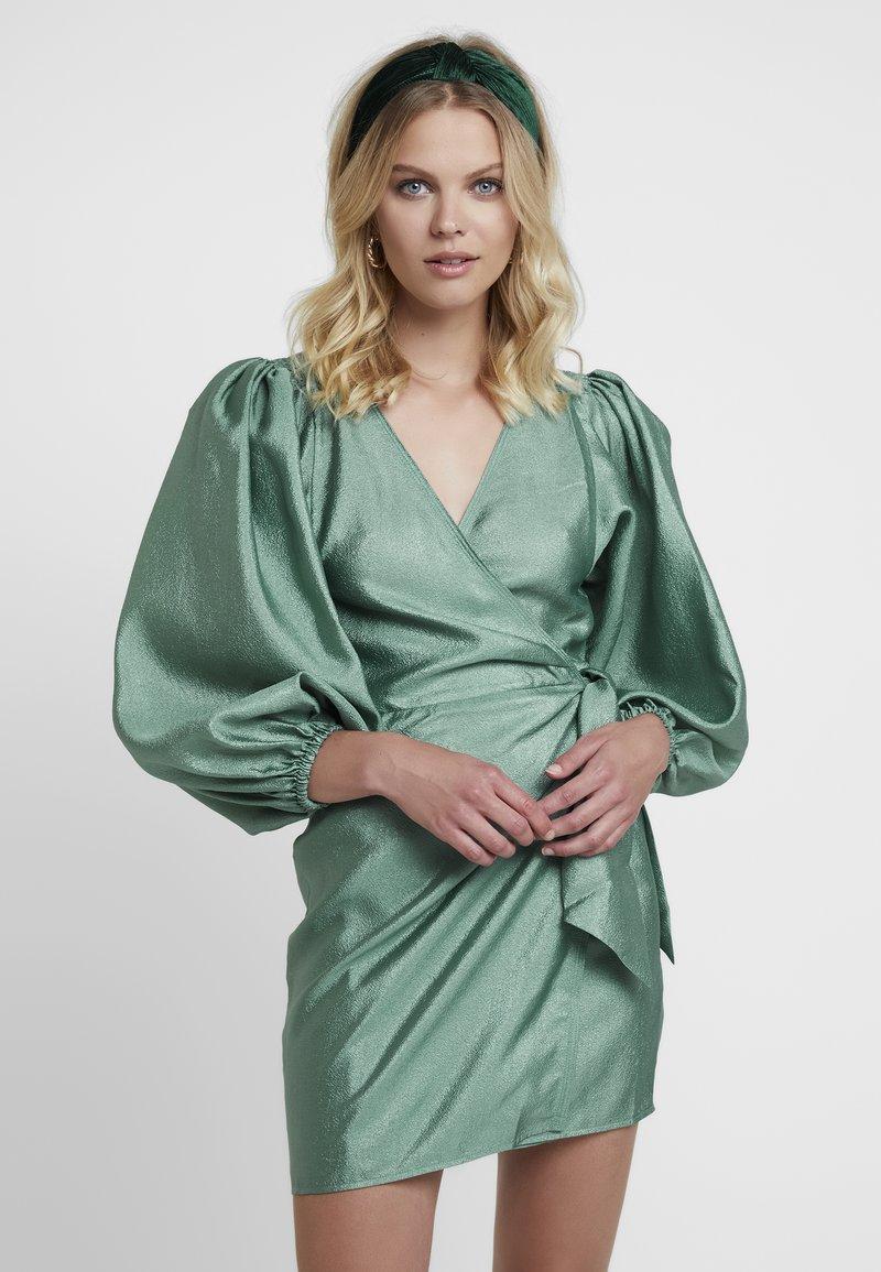 Samsøe Samsøe - MAGNOLIA SHORT DRESS - Cocktail dress / Party dress - green