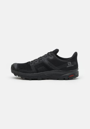 OUTLINE PRISM GTX - Hiking shoes - black/quiet shade