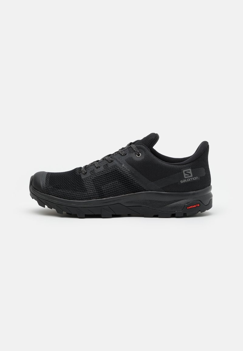 Salomon - OUTLINE PRISM GTX - Trekingové boty - black/quiet shade
