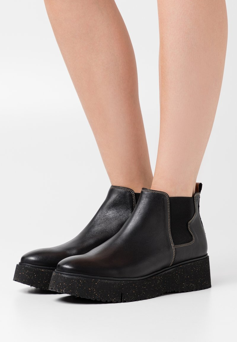 Wonders Green - Ankelboots - black