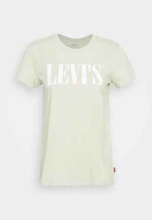 THE PERFECT TEE - T-shirts med print - light green