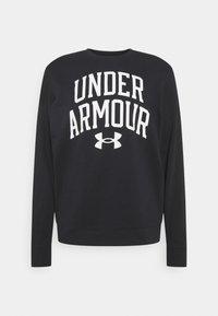 Under Armour - RIVAL CREW - Sudadera - black - 3