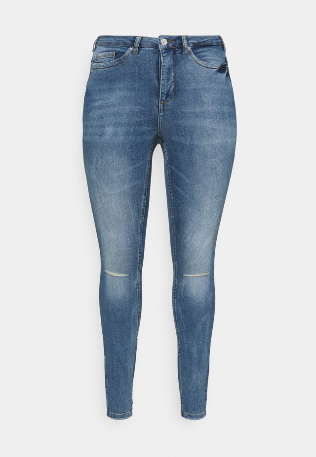 VMLORAEMILIE - Jeans slim fit - light blue denim