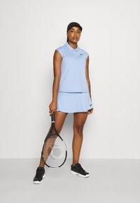 Nike Performance - VICTORY  - Sports shirt - aluminum/black - 1