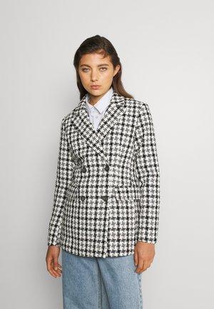 VICANIL - Krátký kabát - white/black