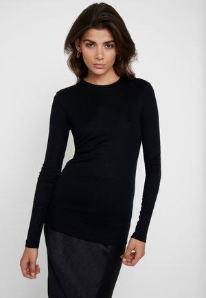 MONA - Long sleeved top - black