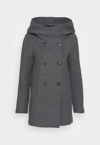 Vero Moda - VMSUNNY BOOS - Klassisk kåpe / frakk - dark grey melange - 3