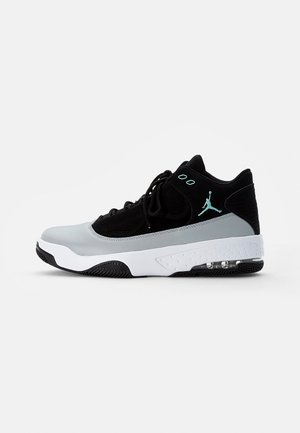JORDAN MAX AURA  - Sneakersy wysokie - black/tropical twist-light smoke grey-white
