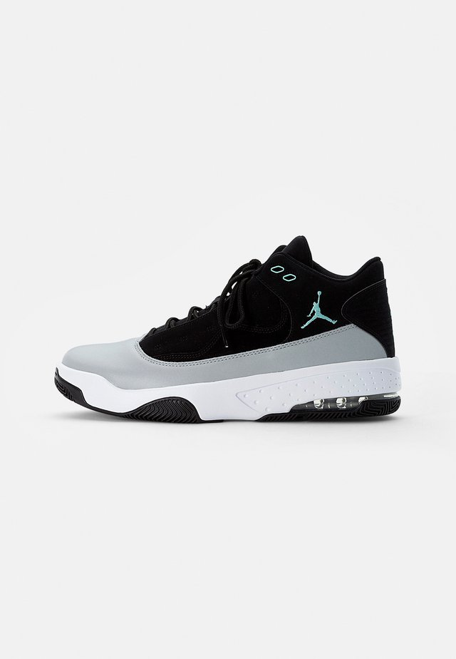 JORDAN MAX AURA  - Zapatillas altas - black/tropical twist-light smoke grey-white