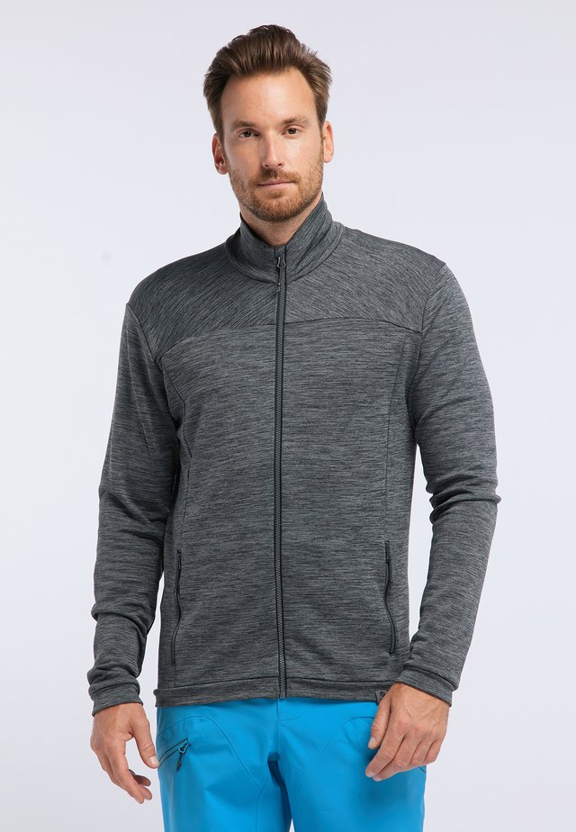 INSTINCT - Zip-up hoodie - black