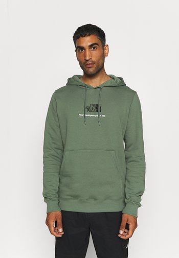 NEW CLIMB HOODIE - Sweatshirt - laurel wreath green