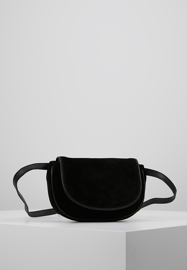 LEATHER - Bum bag - black