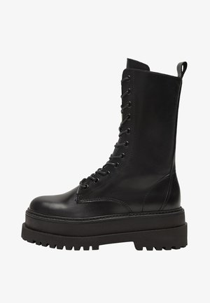 MONET - Platåstøvler - black