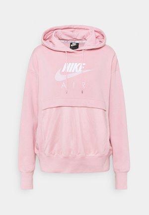 AIR HOODIE - Mikina - pink glaze/white