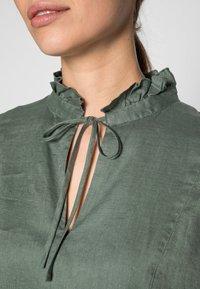 ARKET - Shirt dress - sage green - 4